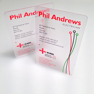 electrician cards
