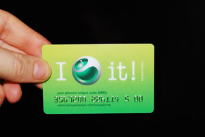 plastic card embossing
