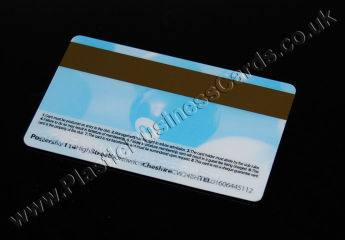 plastic cards for epos and pos systems