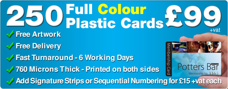 Plastic card printing colour plastic cards limited blog plastic cards special offer reheart Choice Image