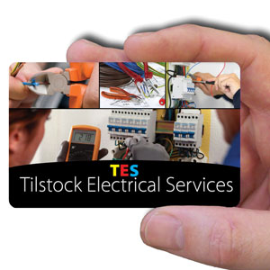 business cards for electrician
