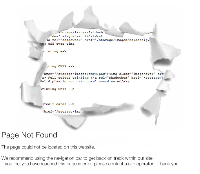 Blog Not Found: Page Not Found