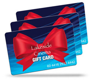 Lakeside Cinema Gift Card