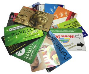 plastic cards examples