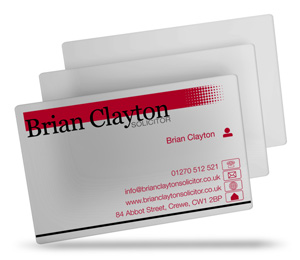 Brian Clayton Solicitors is design of the week.