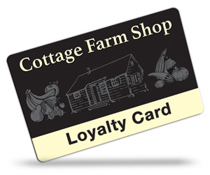 Cottage Farm Shop Loyalty Cards