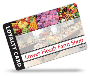 loyalty cards for farm shops