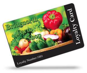 Bridgnorth Farm Shop Loyalty Cards