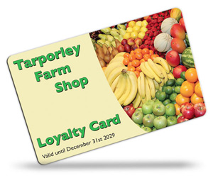 Tarporley Farm Shop Loyalty Cards
