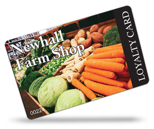 Newhal Farm Shop Loyalty Cards