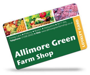 Allimore Green Farm Shop Loyalty Cards