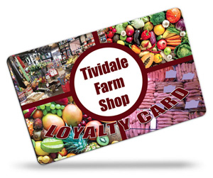 Tividale Farm Shop Loyalty Cards