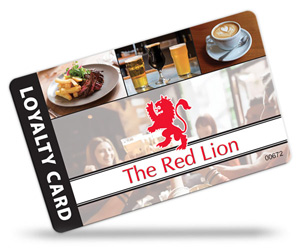 pub and restaurant loyalty cards