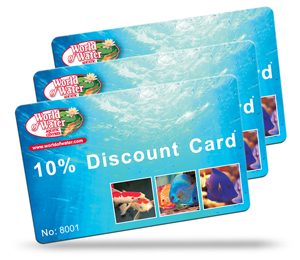 World of water loyalty card