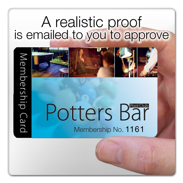 realistic loyalty card email proof