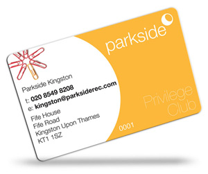 Parkside loyalty cards