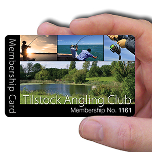 membership cards for angling club