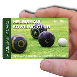 membership cards for bowling club