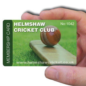 membership cards for cricket club