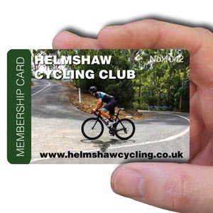 membership cards for cycling club