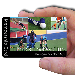 membership cards for hockey club