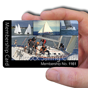 membership cards for sailing club