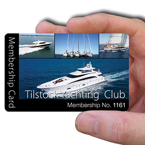 membership cards for yachting clubs