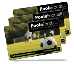 football club membership card examples