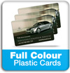 full colour plastic business cards information