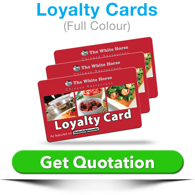 loyalty cards quote