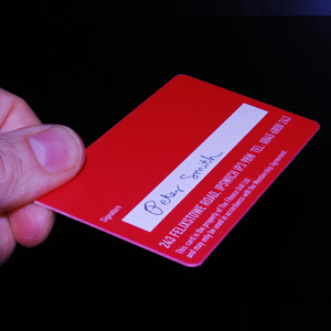 Membership Cards with signature strips
