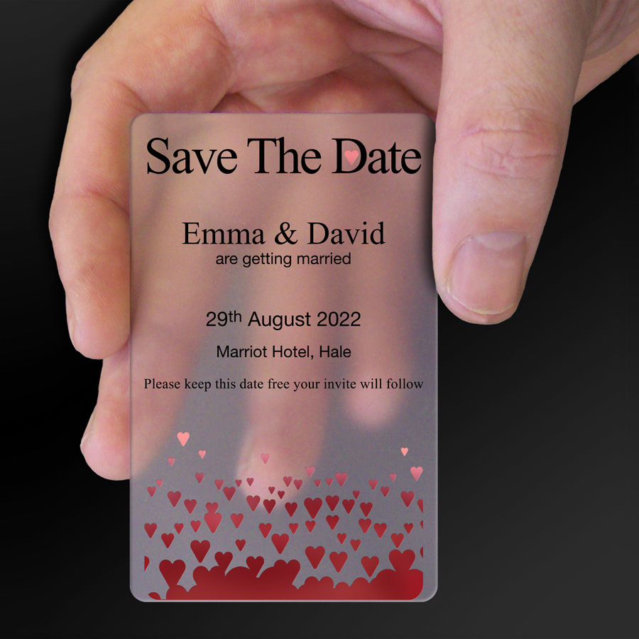 Save The Date Card Example 3