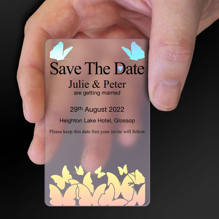 Save The Date Card Example 4