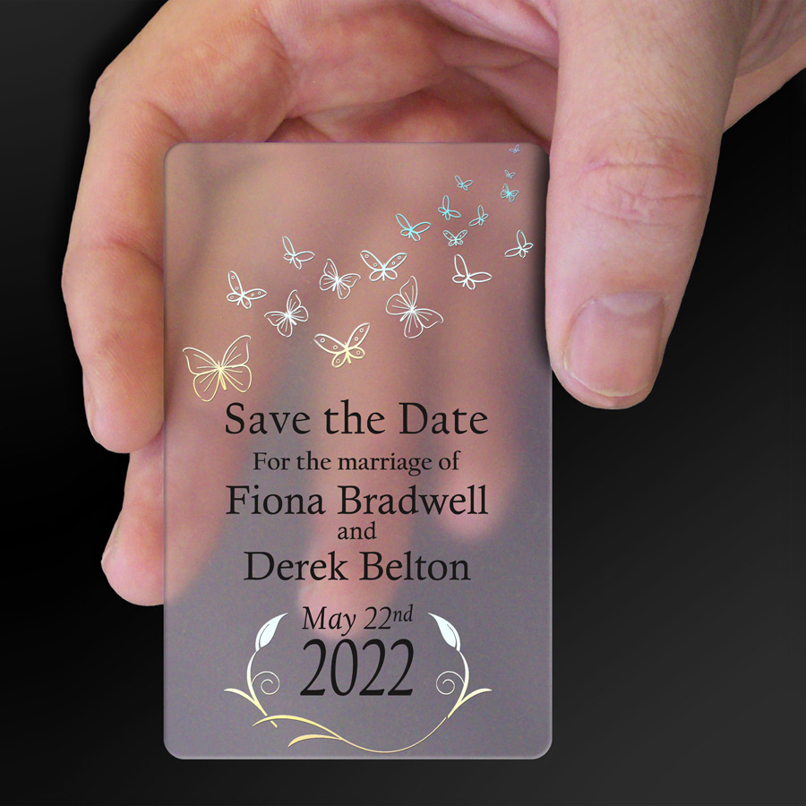 Save The Date Card Example 5