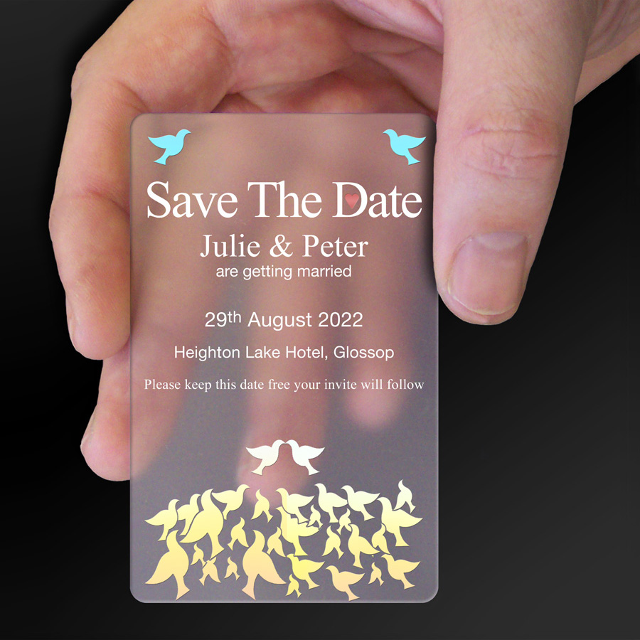 Save The Date Card Example 6