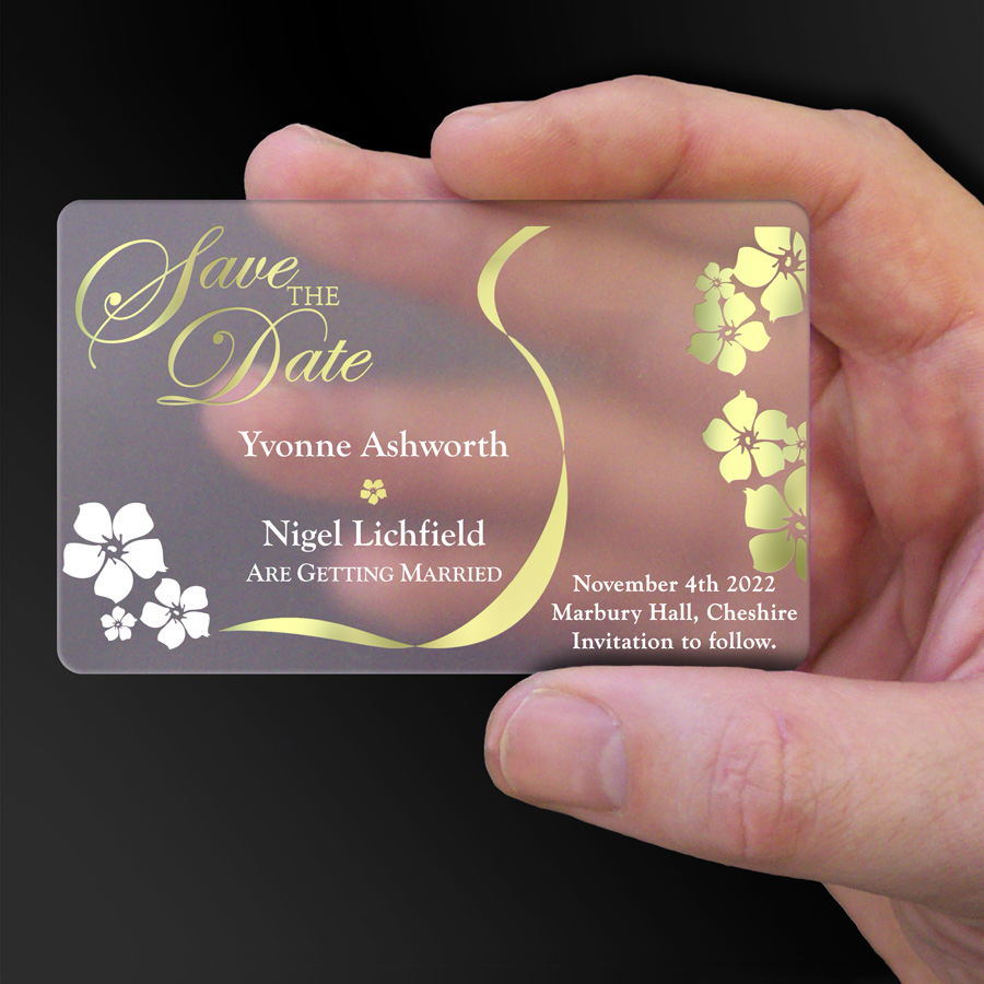 Save The Date Card Example 10