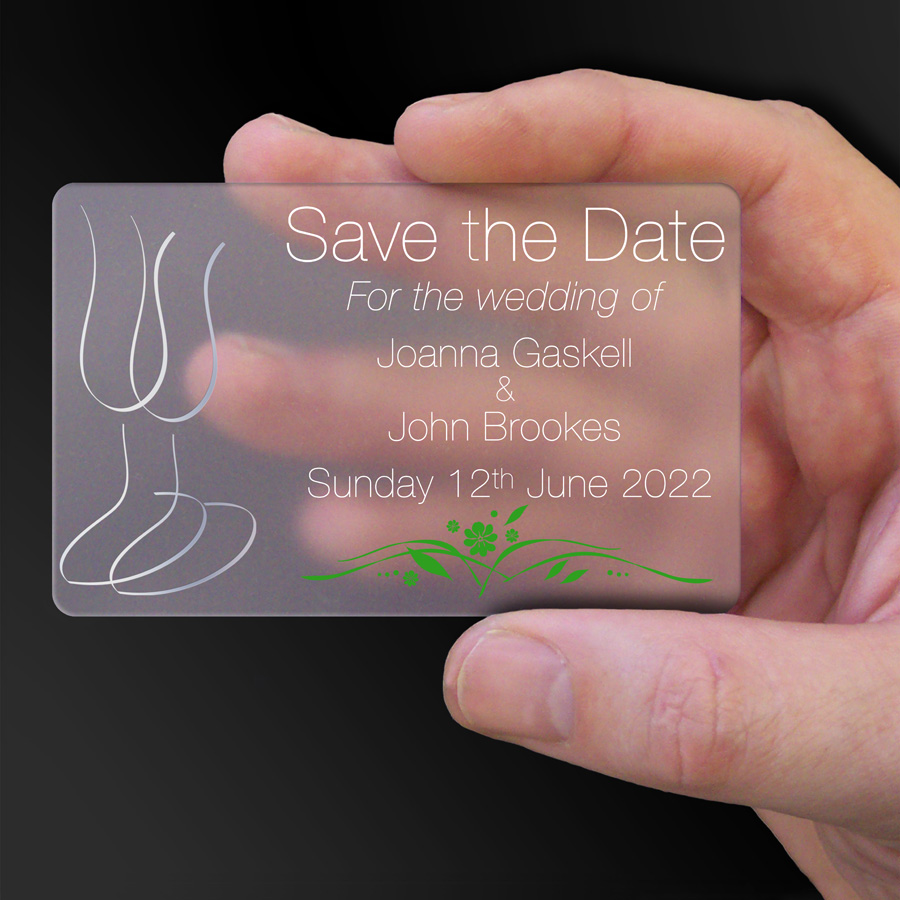 Save The Date Card Example 11