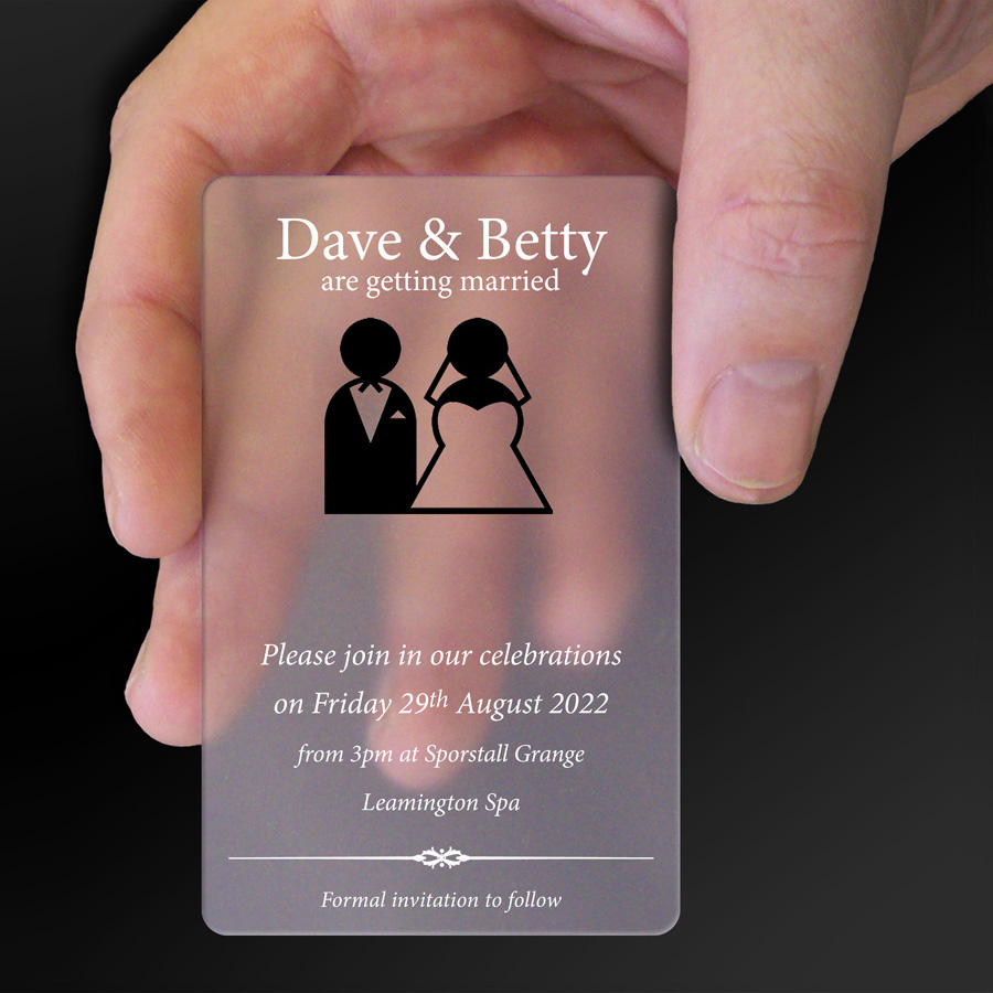 Save The Date Card Example 13