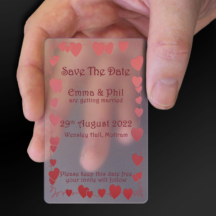 Save The Date Card Example 16