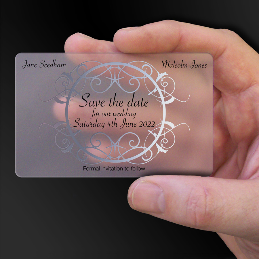 Save The Date Card Example 17