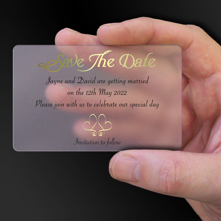 Save The Date Card Example 19