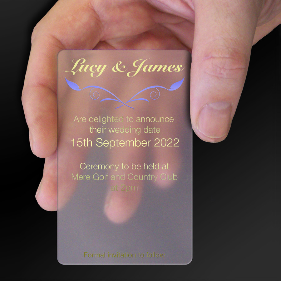 Save The Date Card Example 20