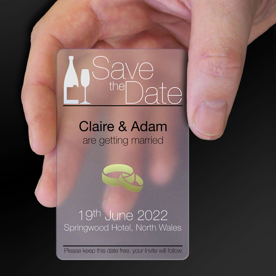Save The Date Card Example 22