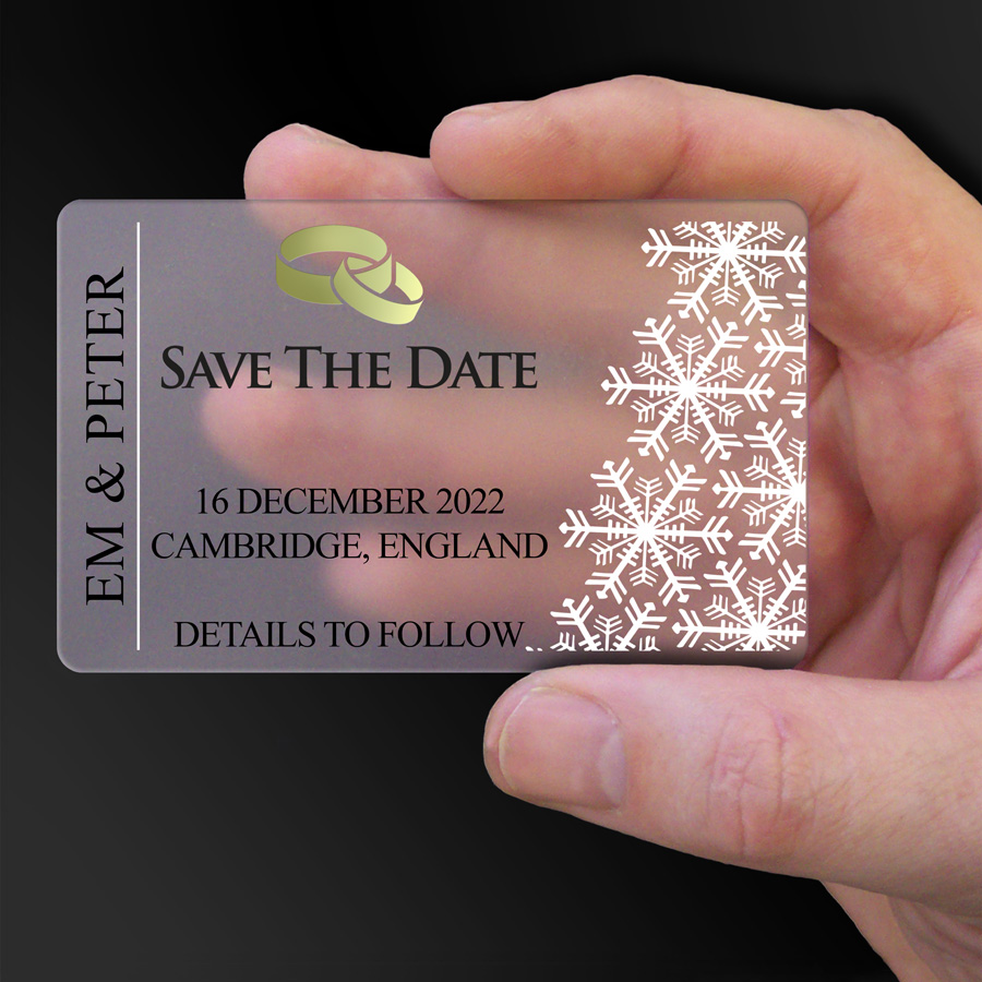 Save The Date Card Example 25