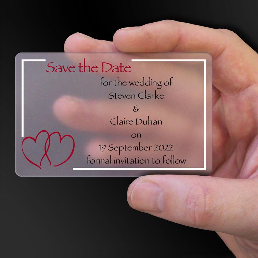 Save The Date Card Example 26