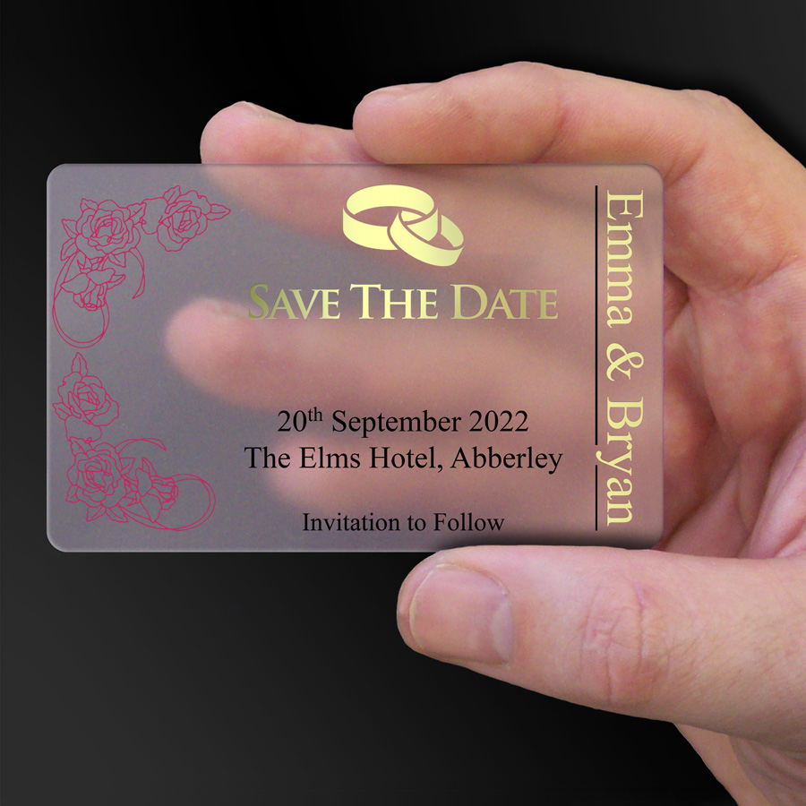 Save The Date Card Example 29