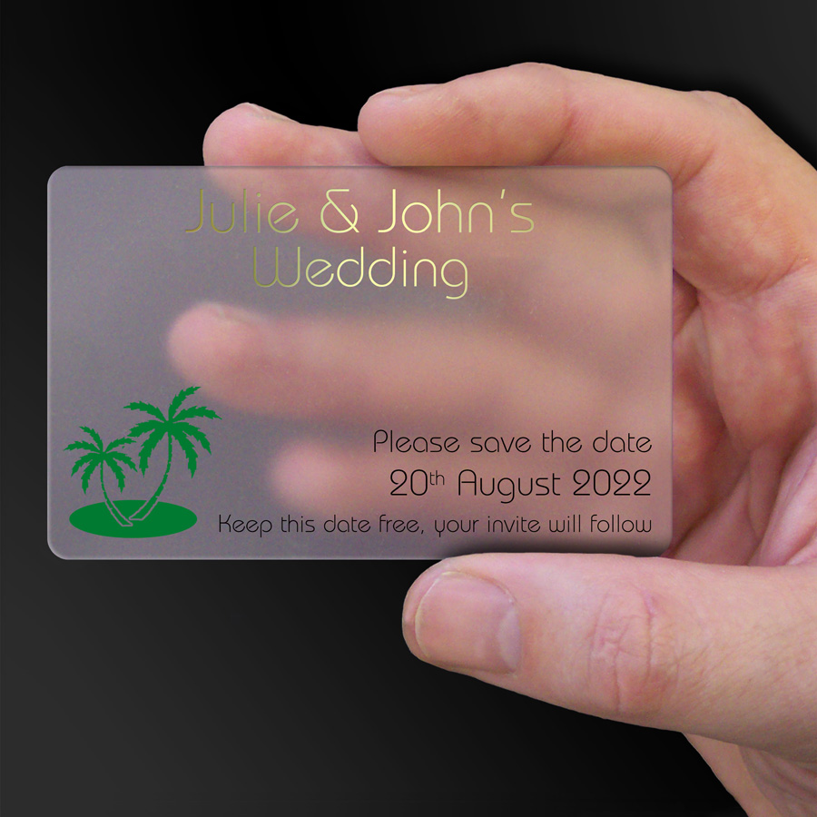 Save The Date Card Example 30