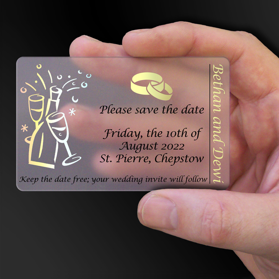 Save The Date Card Example 33