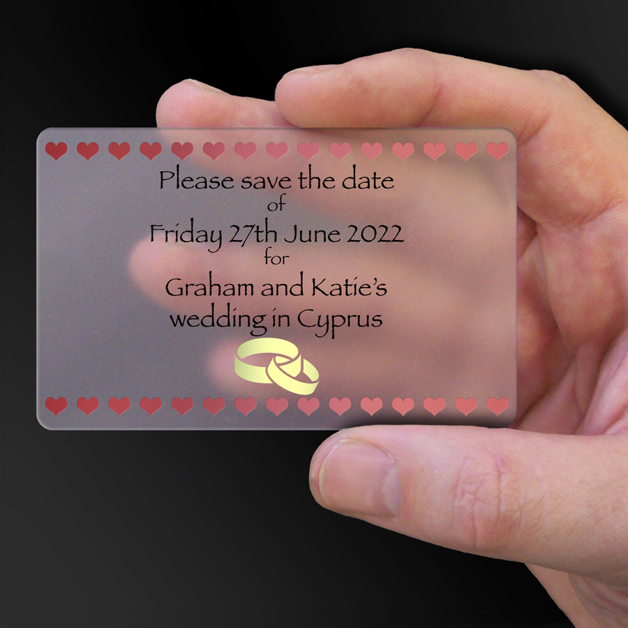 Save The Date Card Example 36