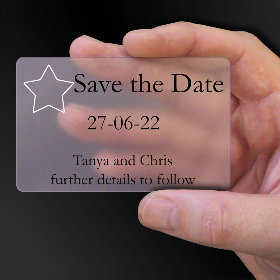 Save The Date Card Example 38